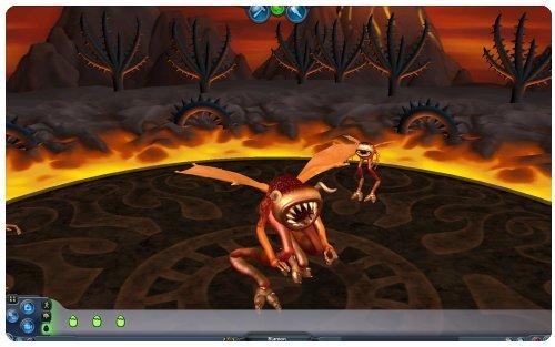 Copie d'écran du Jeu Spore.